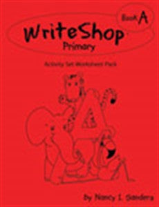 WriteShop Primary Book A: Activity Worksheet Pack - Yellow House Book Rental