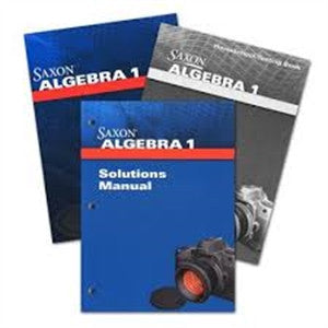 Saxon Algebra 1 Homeschool Kit 4th edition - Yellow House Book Rental