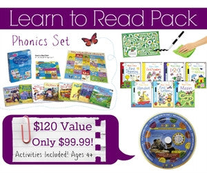 Learn to Read Pack - Yellow House Book Rental
