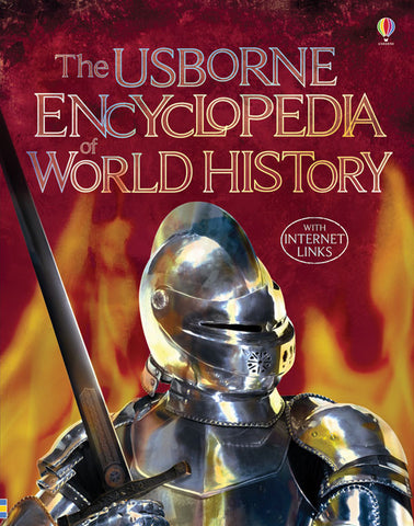 The Usborne Encyclopedia of World History - Yellow House Book Rental