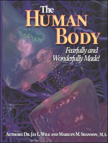 The Human Body-Fearfully and Wonderfully Made- Set - Yellow House Book Rental