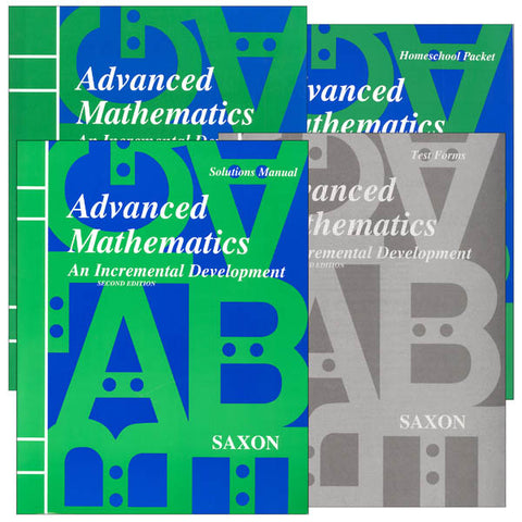 Saxon Advanced Mathematics 2nd Edition Bundle