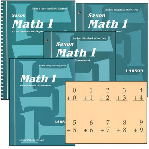 Saxon Math 1 Kit - Yellow House Book Rental