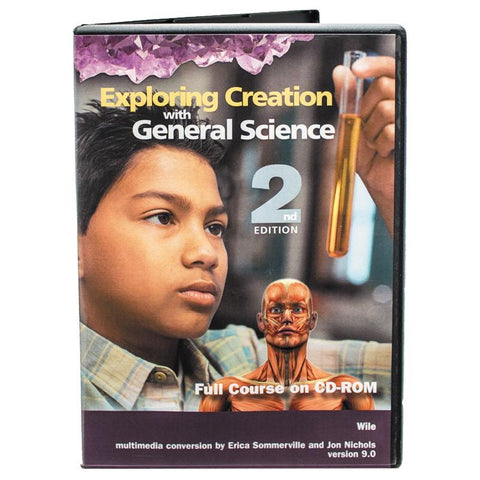 Exploring Creation with General Science Full Course CD-ROM 2nd Edition