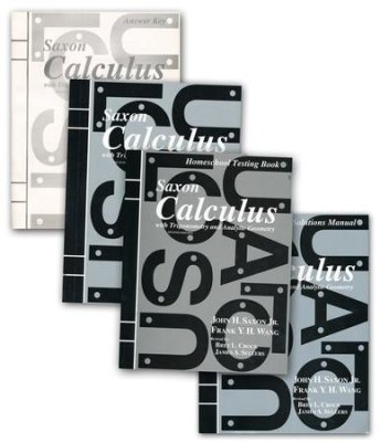 Saxon Calculus 2nd Edition Bundle