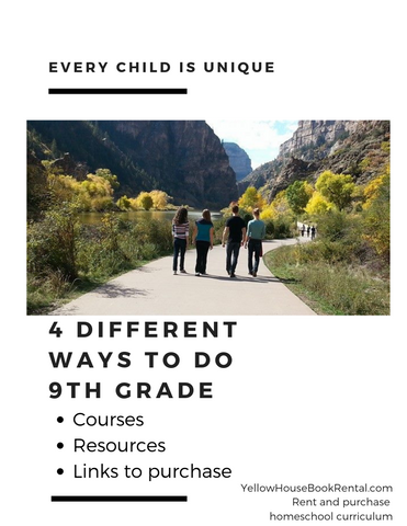 4 Different Ways to Homeschool 9th Grade
