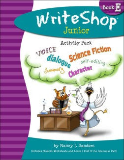 WriteShop Junior Activity Pack Book E - Yellow House Book Rental