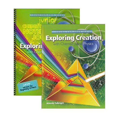 Exploring Creation With Chemistry and Physics Jr Bundle - Yellow House Book Rental