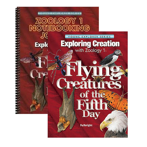 Exploring Creation With Zoology 1 Bundle: Flying Creatures of the Fifth Day - Yellow House Book Rental