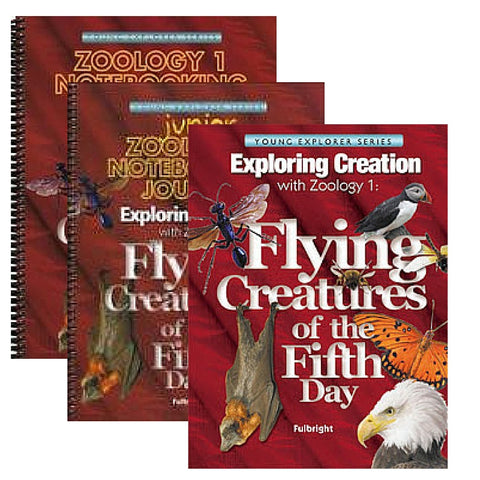 Exploring Creation With Zoology 1 Family  Bundle: Flying Creatures of the Fifth Day - Yellow House Book Rental