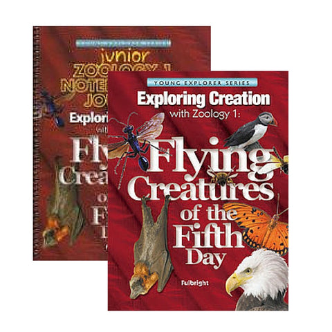 Exploring Creation With Zoology 1 Jr Bundle: Flying Creatures of the Fifth Day - Yellow House Book Rental