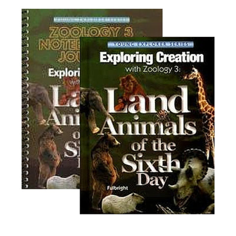 Exploring Creation With Zoology 3 Bundle: Land Creatures of the Sixth Day - Yellow House Book Rental