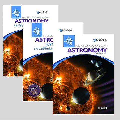 Exploring Creation With Astronomy 2nd Edition Family Bundle - Yellow House Book Rental