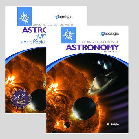 Exploring Creation With Astronomy Jr 2nd Edition Bundle - Yellow House Book Rental