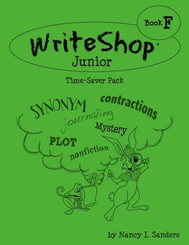 WriteShop Junior Time-Saver Pack Book F