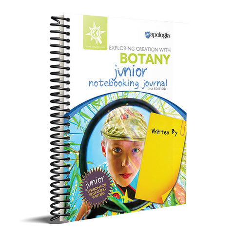 Exploring Creation With Botany Junior Notebooking Journal 2nd Edition