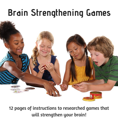 Equipping Minds With Games Instruction Booklet- Brain Strengthening