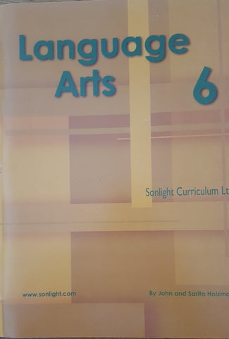 Sonlight Core G Language Arts