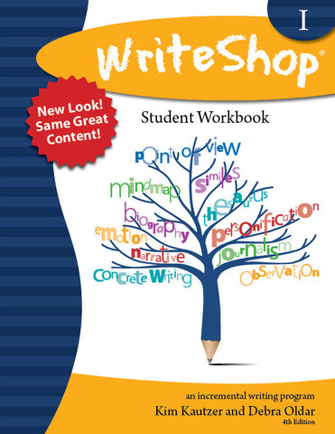 WriteShop 1 Student Workbook - Yellow House Book Rental