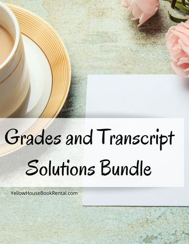 Grades and Transcript Bundle