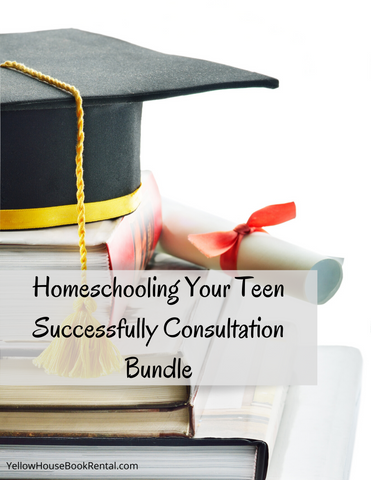 Homeschooling Your Teen Successfully Consultation Bundle