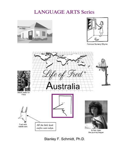 Life of Fred Language Arts Series: Australia - Yellow House Book Rental