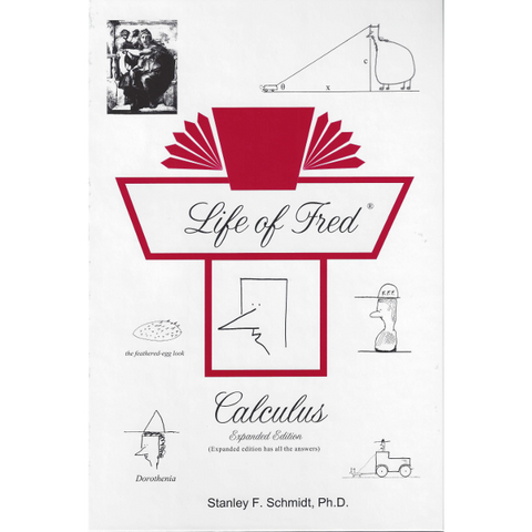 Life of Fred College: Calculus Expanded Edition - Yellow House Book Rental