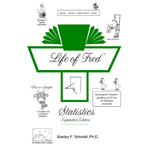 Life of Fred College: Statistics Expanded Edition - Yellow House Book Rental