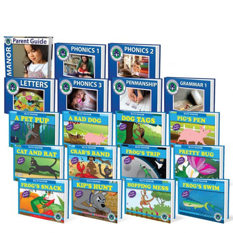 Complete Phonics Reading Set - Yellow House Book Rental