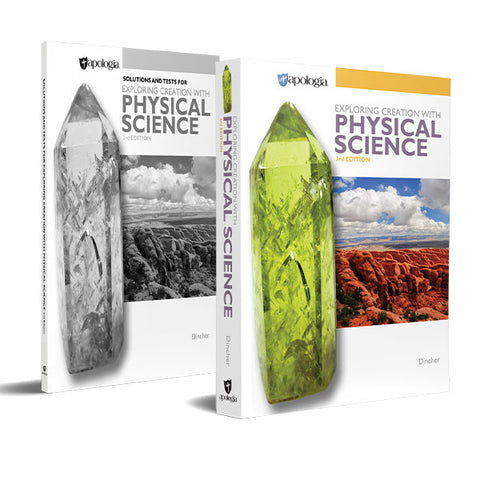 Exploring Creation with Physical Science, 3rd Edition Basic Set