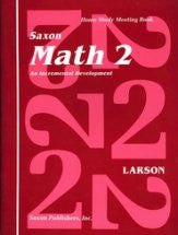Saxon Math 2 Meeting Book - Yellow House Book Rental