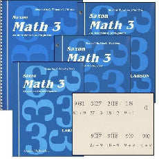 Saxon Math 3 Kit - Yellow House Book Rental