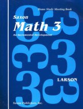 Saxon Math 3 Meeting Book - Yellow House Book Rental