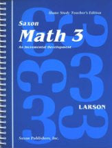 Saxon Math 3 Teacher's Manual - Yellow House Book Rental