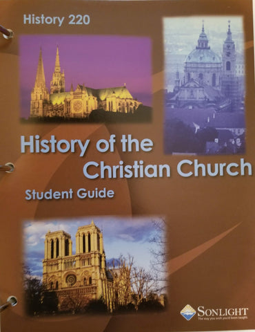 Sonlight Core 200: History of the Christian Church