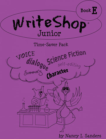 WriteShop Junior Time-Saver Pack  Book E
