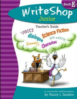 WriteShop Jr Book E Teacher's Guide - Yellow House Book Rental