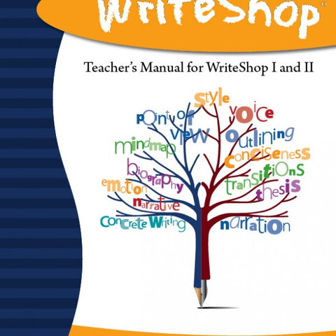 WrtieShop Teacher's Manual for WriteShop I & II - Yellow House Book Rental