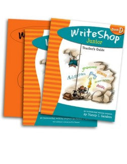 WriteShop Junior Book D Set - Yellow House Book Rental