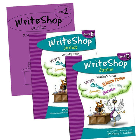 WriteShop Jr Book E Set - Yellow House Book Rental