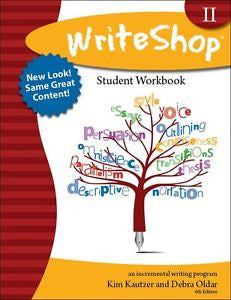 WriteShop 2 Student Workbook - New Look! - Yellow House Book Rental