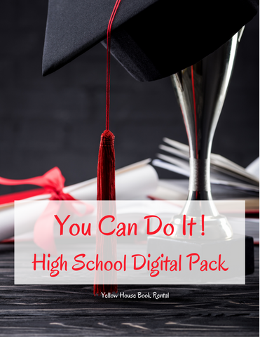 You Can Do It! High School Digital Pack