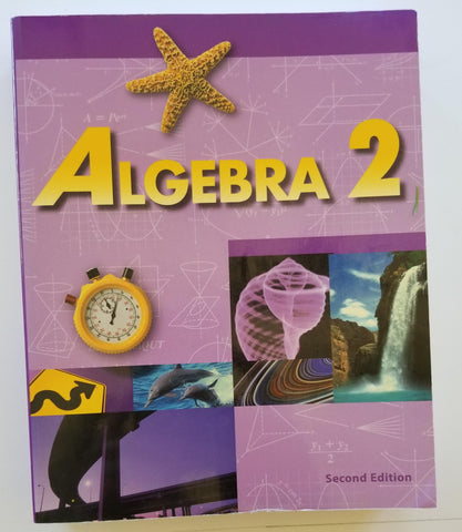 Algebra 2, 2nd edition student text
