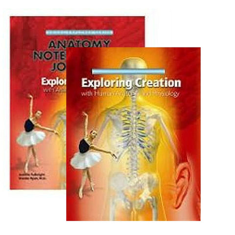Exploring Creation With Human Anatomy and Physiology Bundle - Yellow House Book Rental
