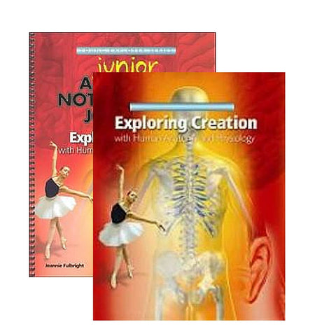 Exploring Creation With Human Anatomy and Physiology Junior Bundle - Yellow House Book Rental