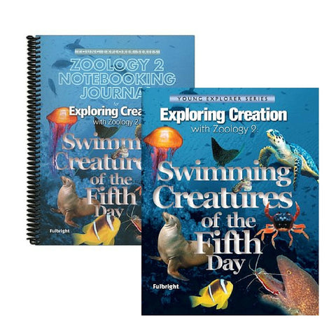Exploring Creation with Zoology 2: Swimming Creatures of the Fifth Day Bundle - Yellow House Book Rental