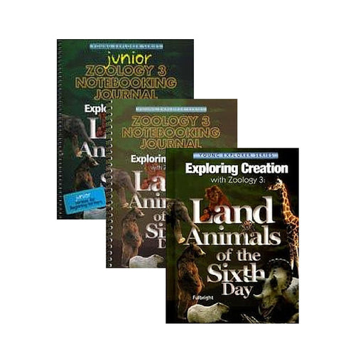 Exploring Creation With Zoology 3, FamilyBundle: Land Creatures of the Sixth Day - Yellow House Book Rental