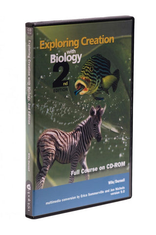 Exploring Creation with Biology full course CD-ROM