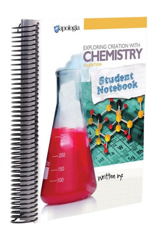 Exploring Creation with Chemistry Student Notebook