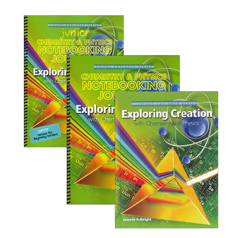 Exploring Creation With Chemistry and Physics Family Bundle - Yellow House Book Rental